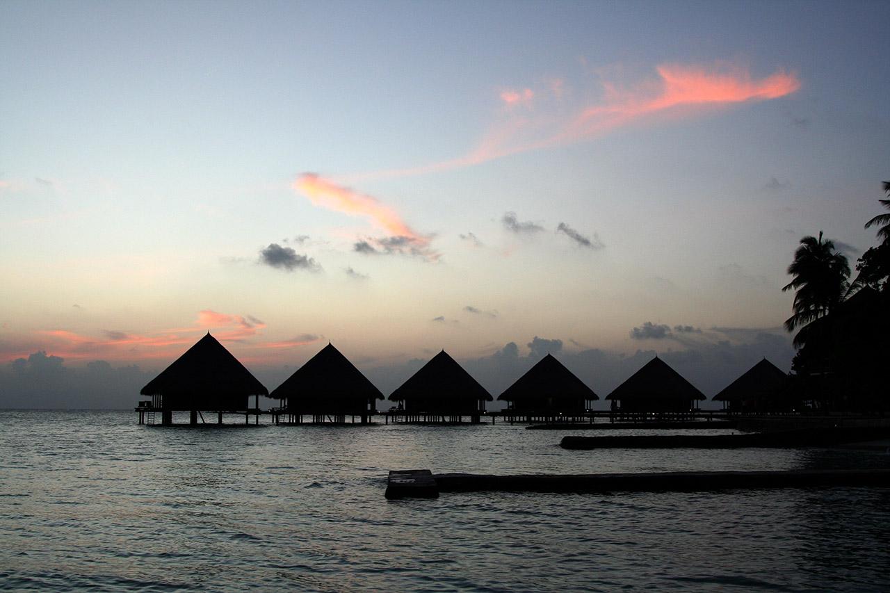 Мальдивский закат