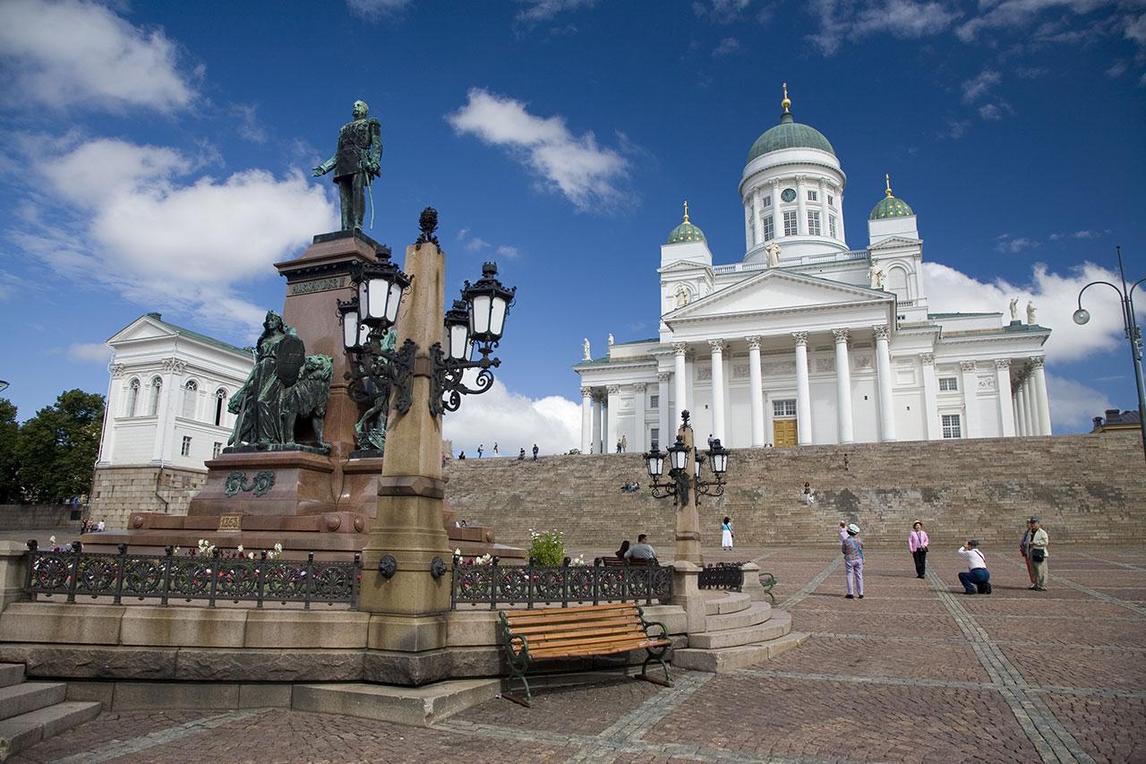 Русский царь и собор в Хельсинки