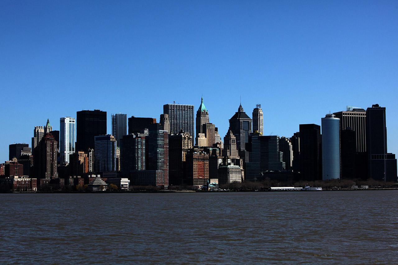 Манхэттен с воды