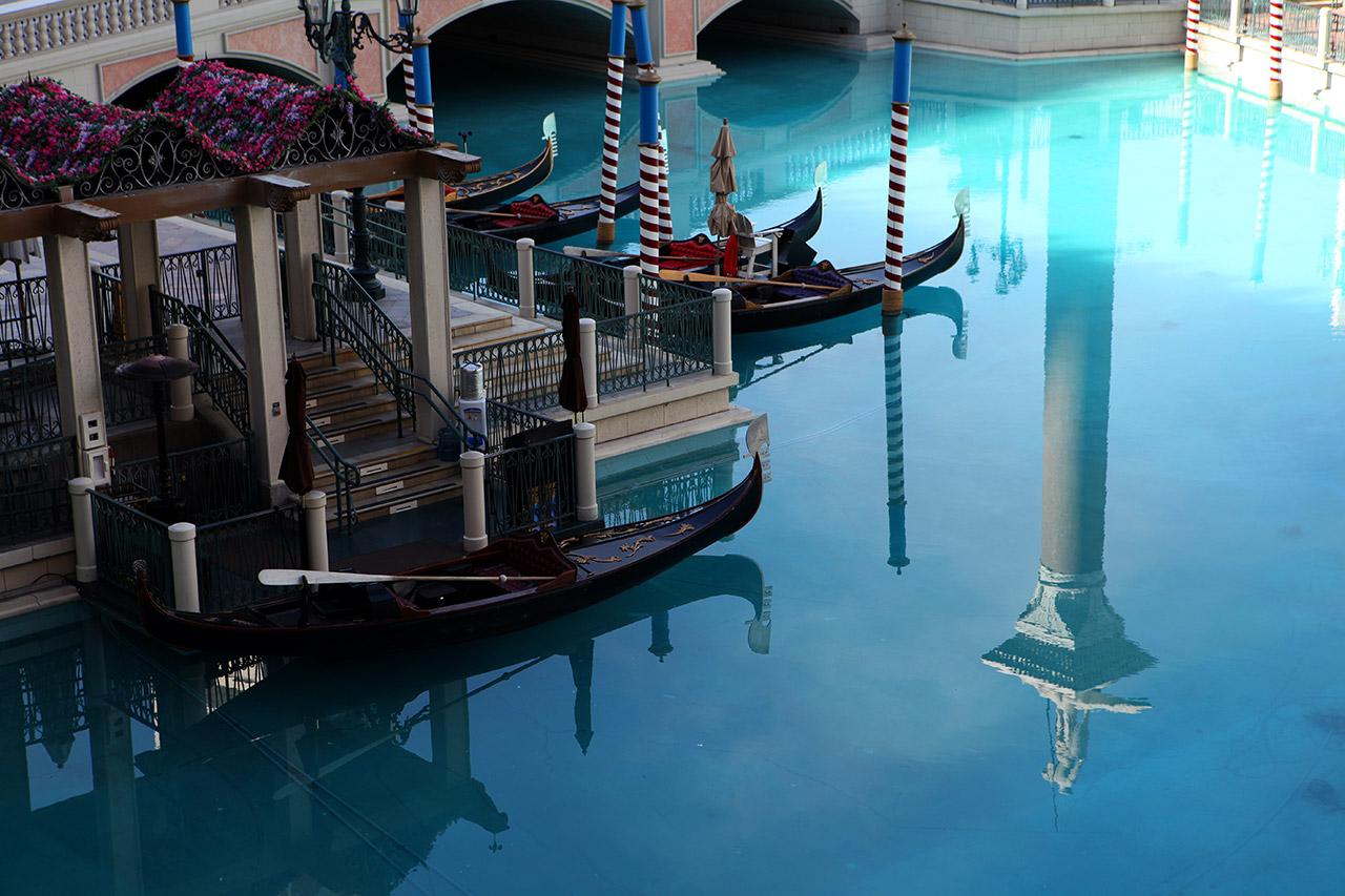 Канал у отеля Venetian
