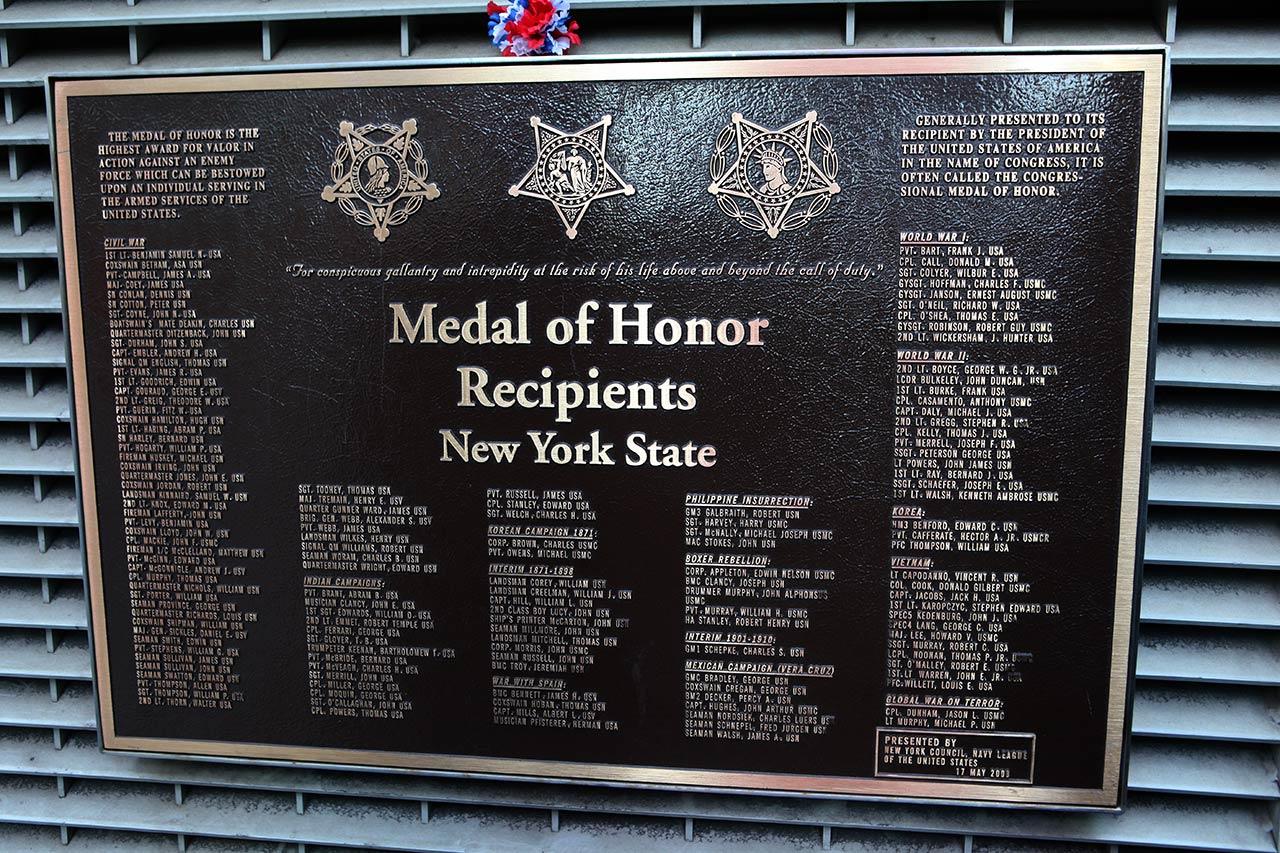 Список получателей медали почёта