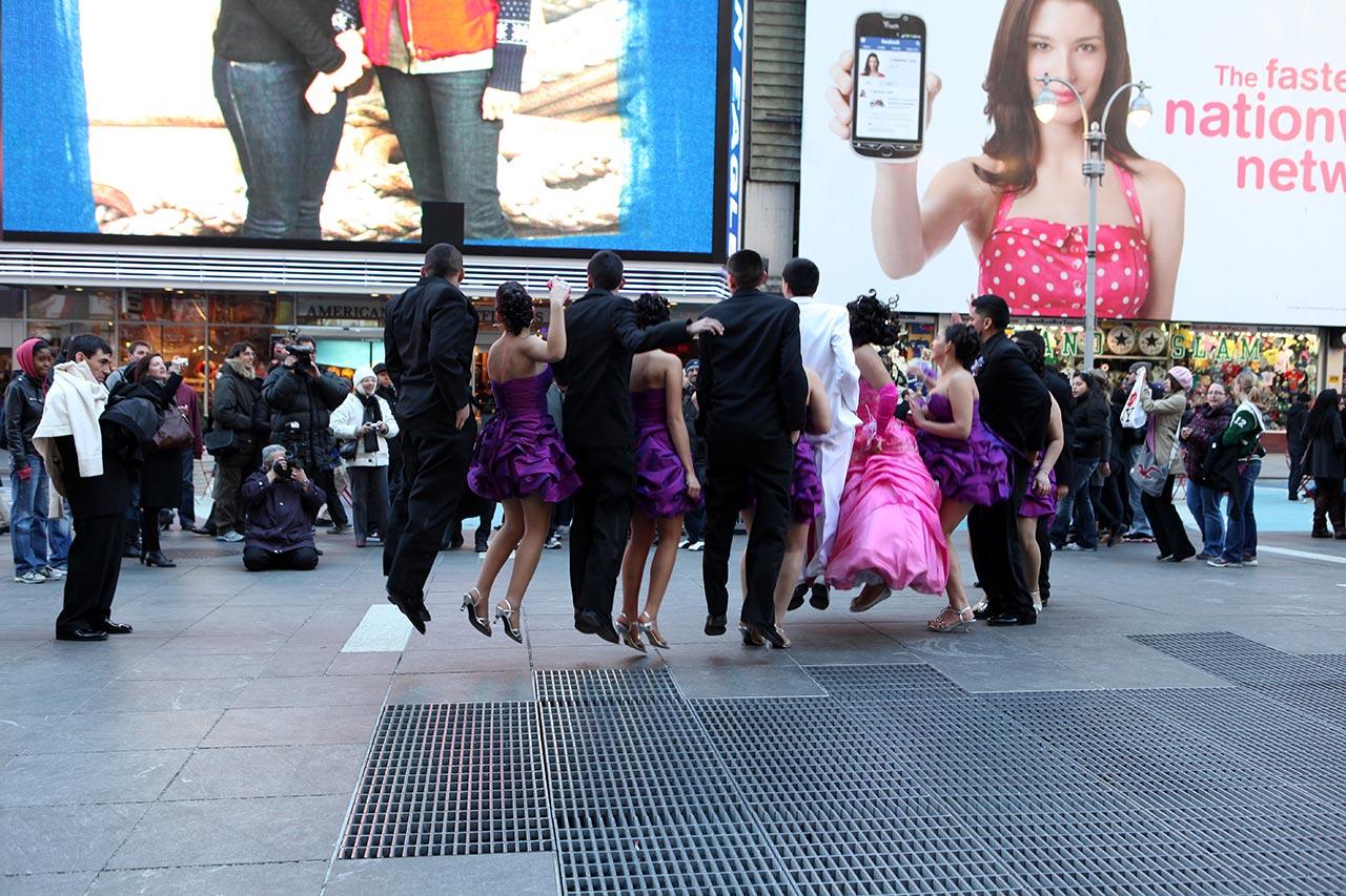 Свадебка на Таймс сквер