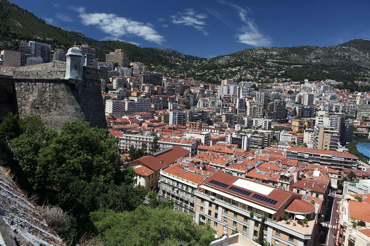 Домики в Монако