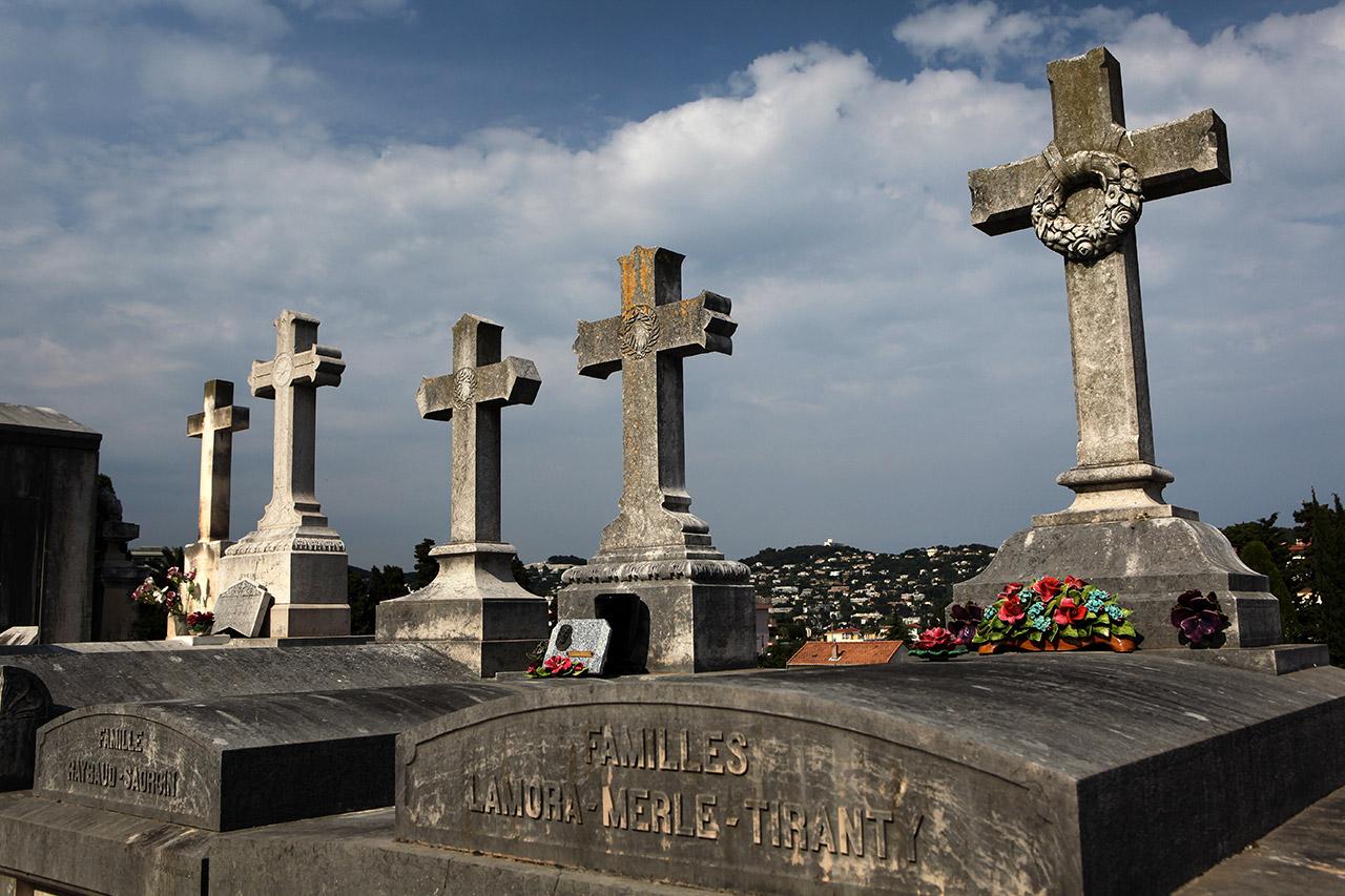 Кладбищенские кресты
