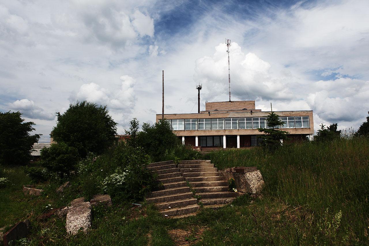 На месте усадьбы Аракчеева