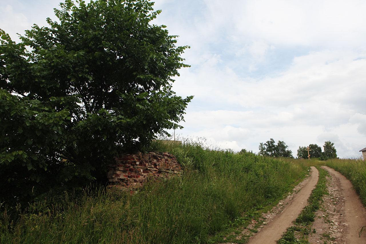 Остатки усадьбы Аракчеева