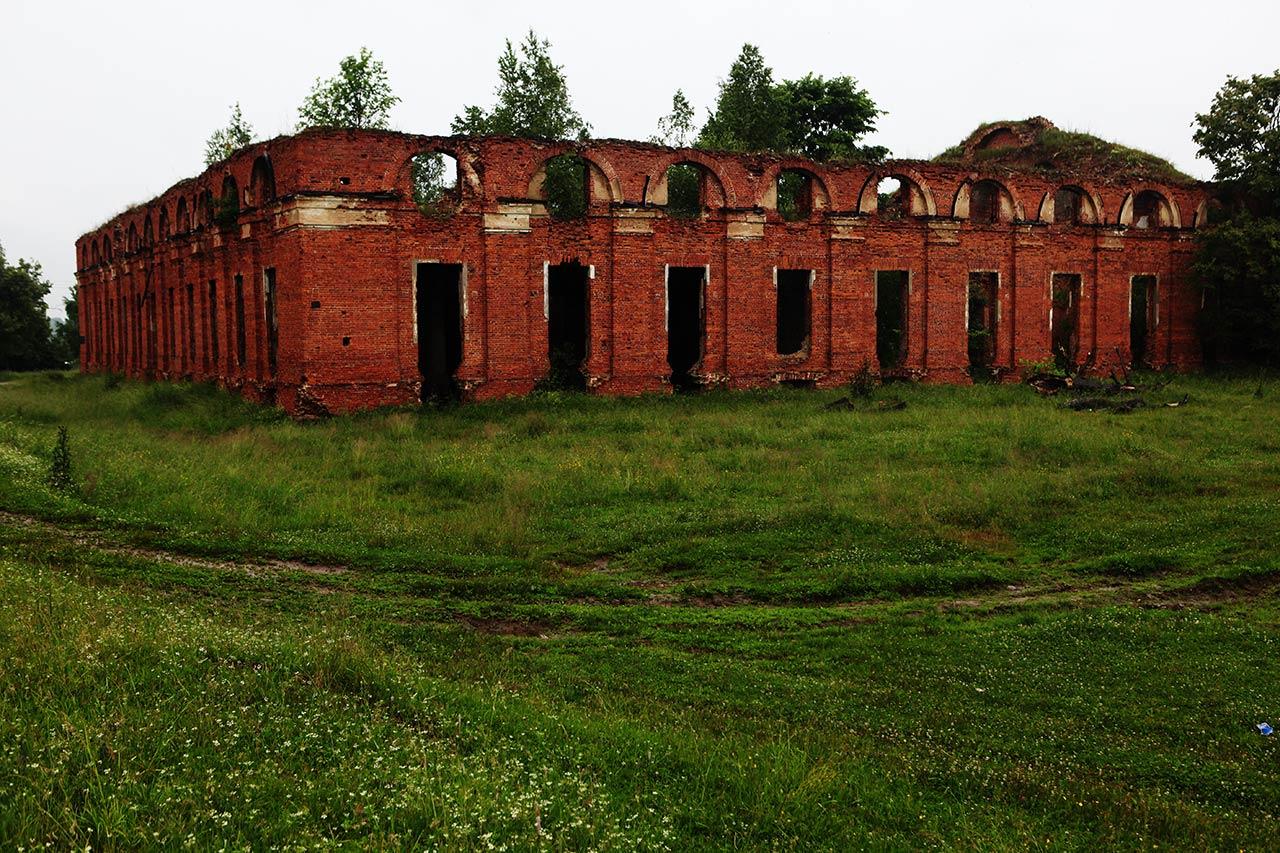 Штабной комплекс в Селищах