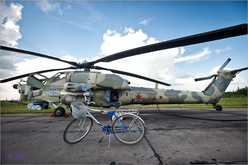 Про ударный вертолёт  © onepamop