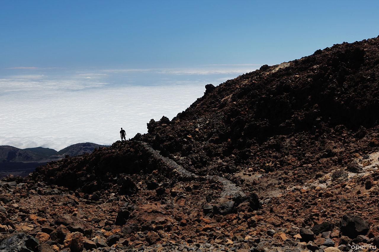 На краю канарского вулкана