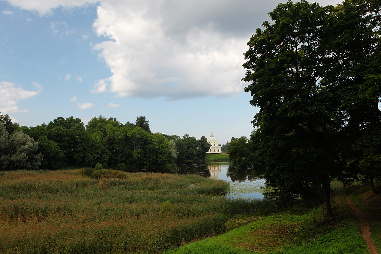Парк в Ораниенбауме