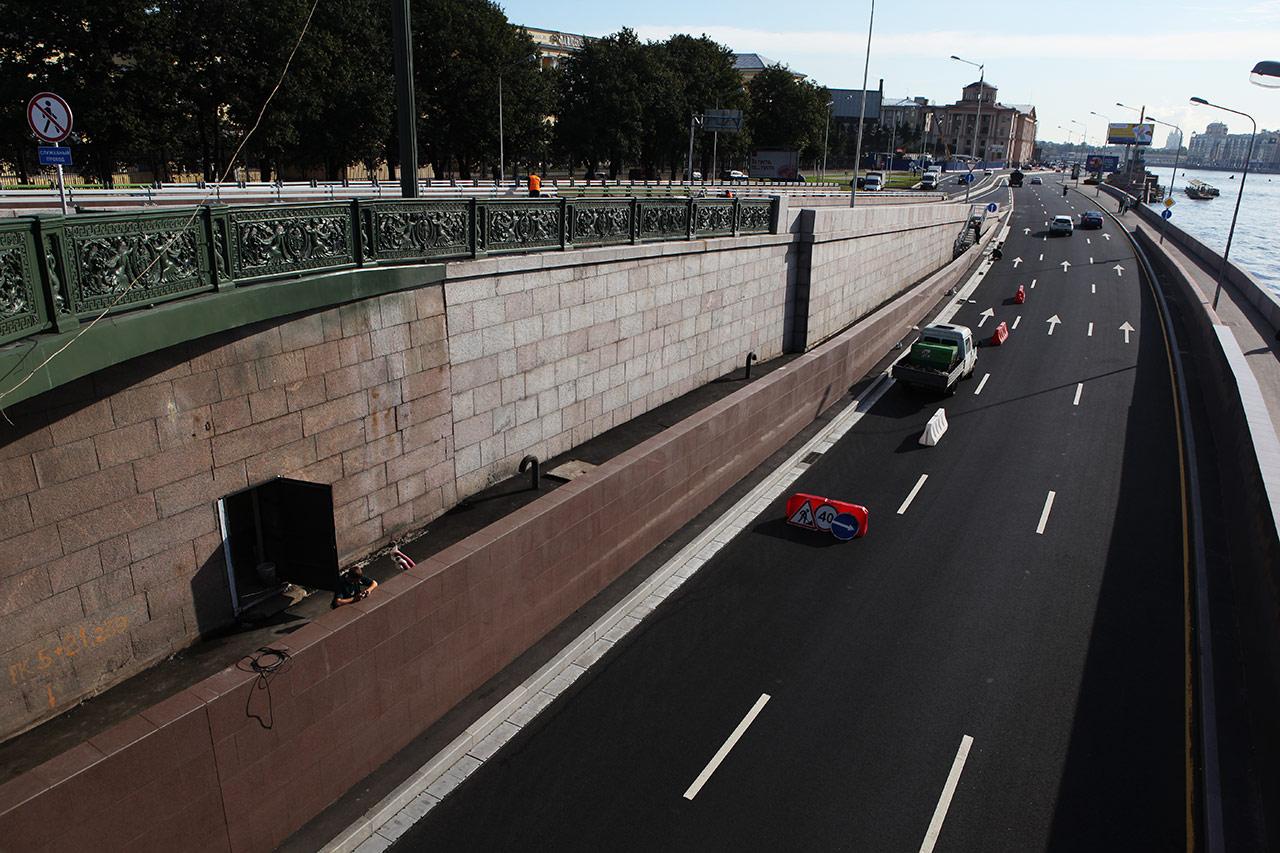Туннель под Литейным мостом