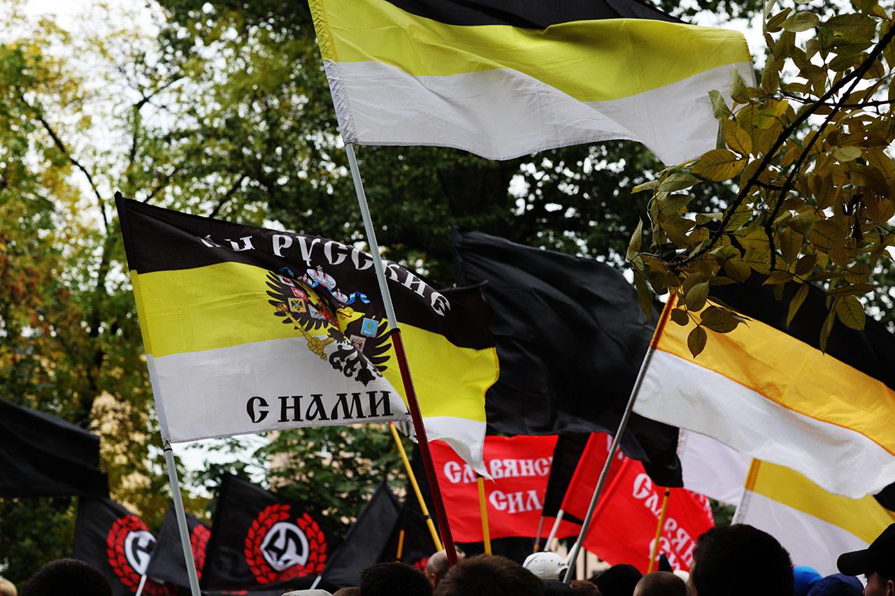 Митинг русских националистов