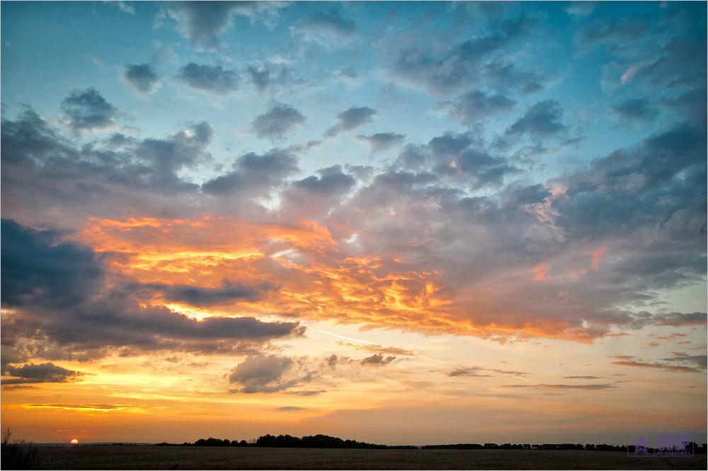 Про закат в Тульской губернии  © onepamop