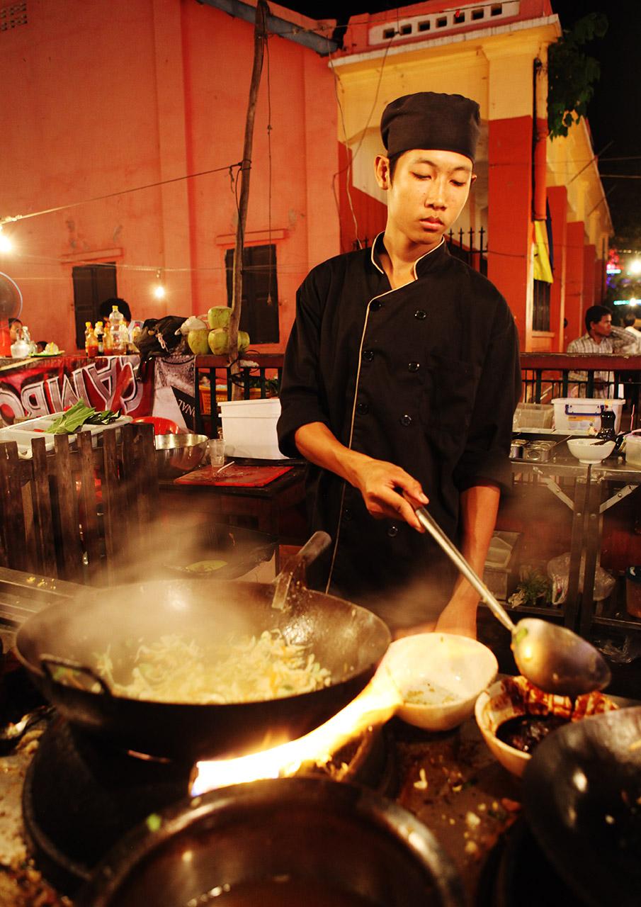 Кхмерский поварёнок