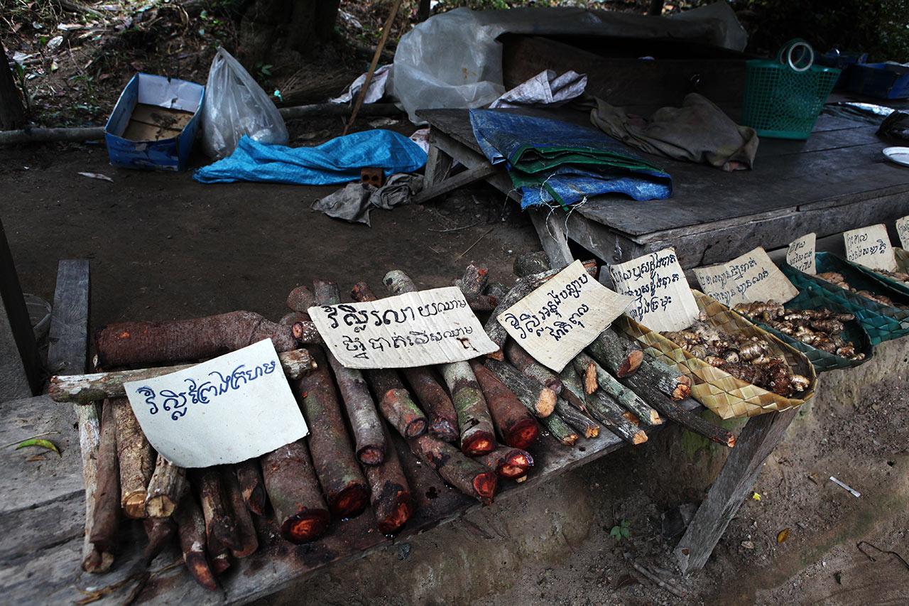 Кхмерские целебные дрова