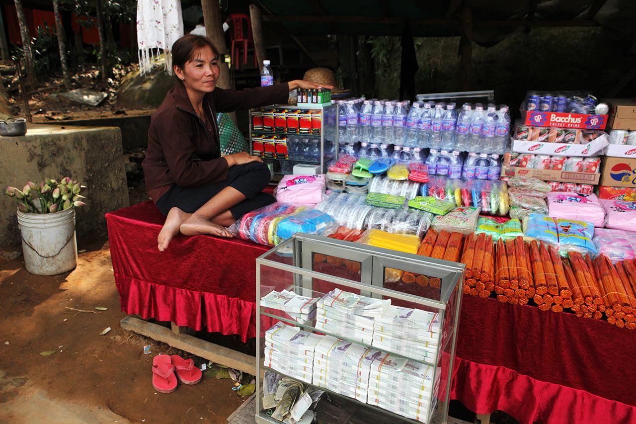 Кхмерская валютчица