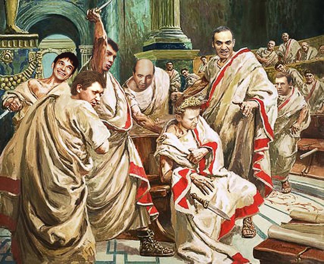 Gayus Lehaimus Ovalnicus Caesaris mortem