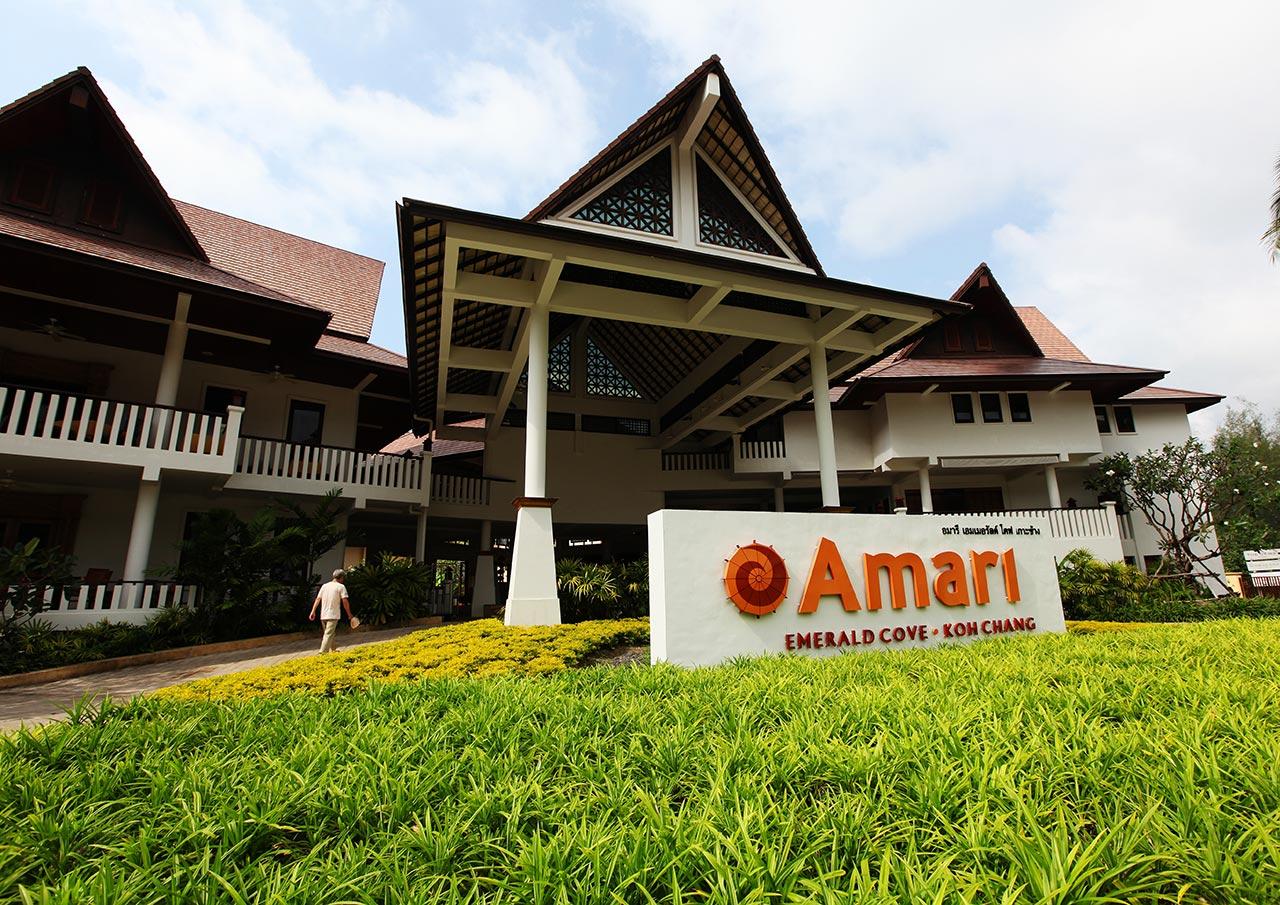 Отель Amari