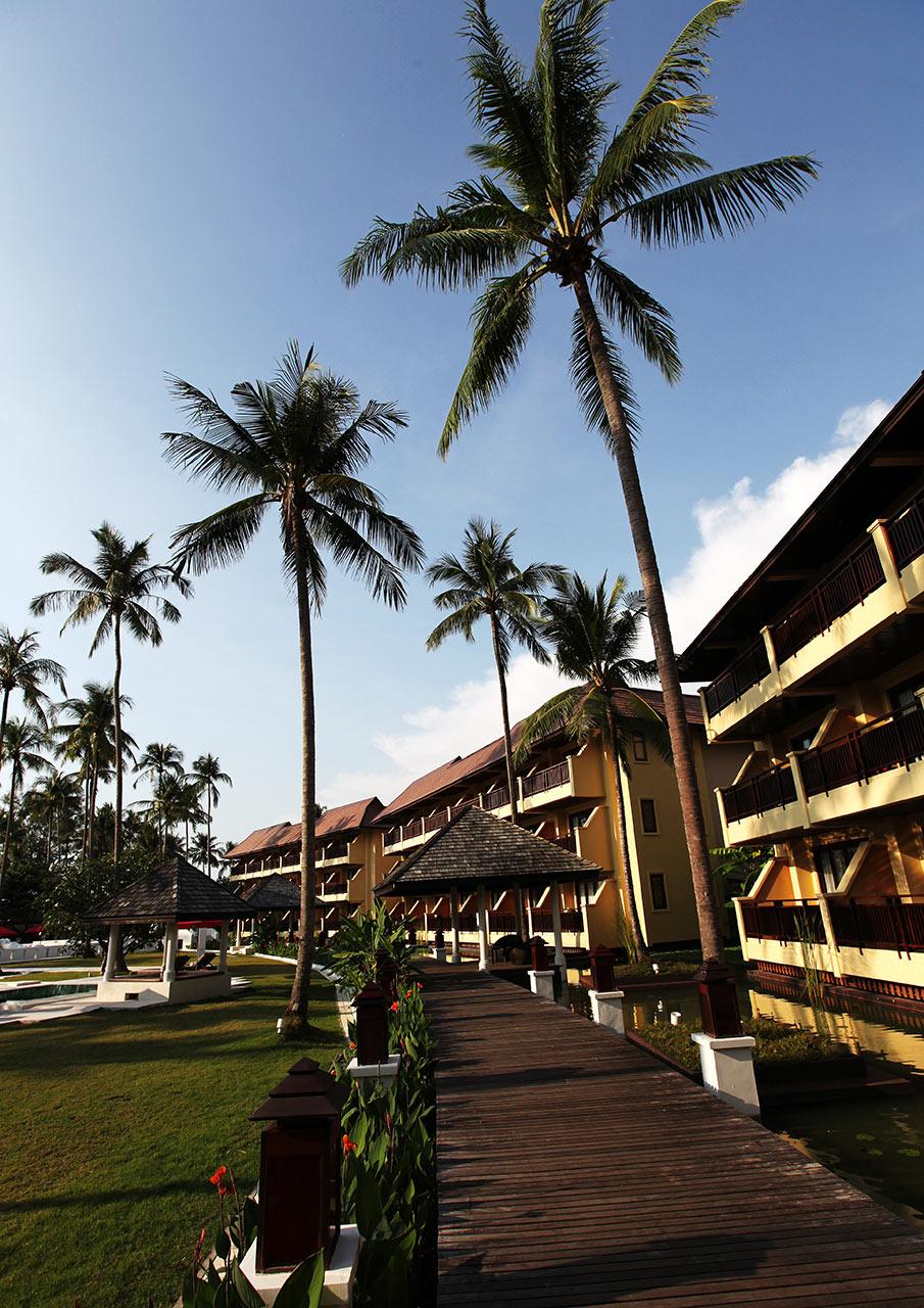 Отельная территория
