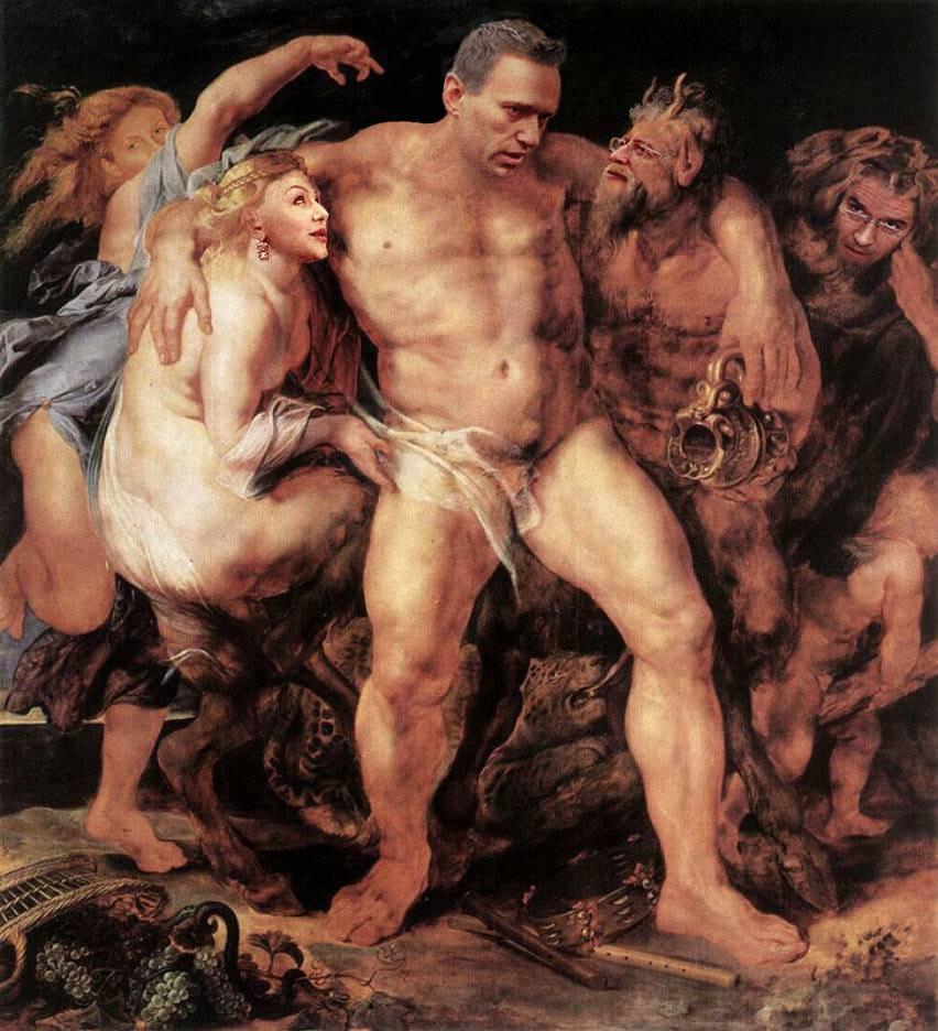 Пьяный Геракл