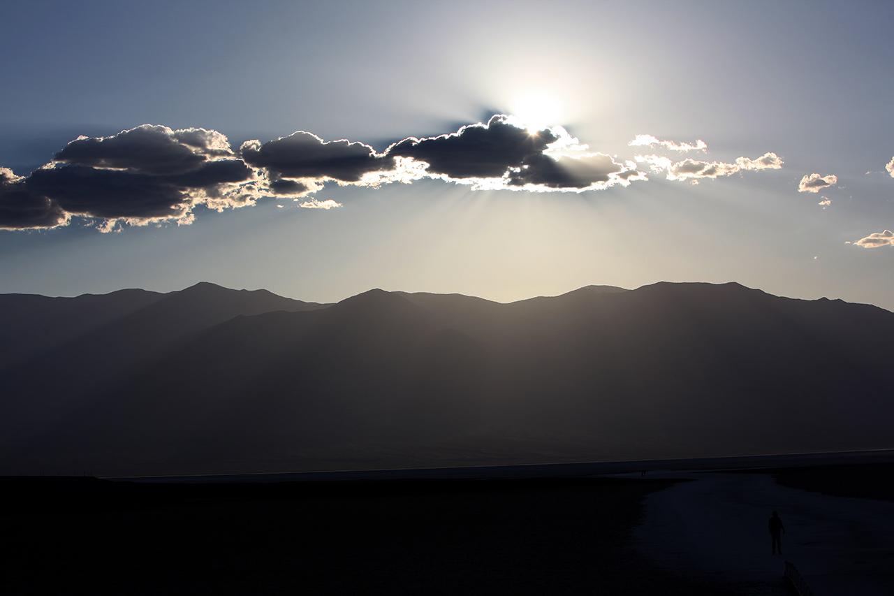 Закат в долине Смерти