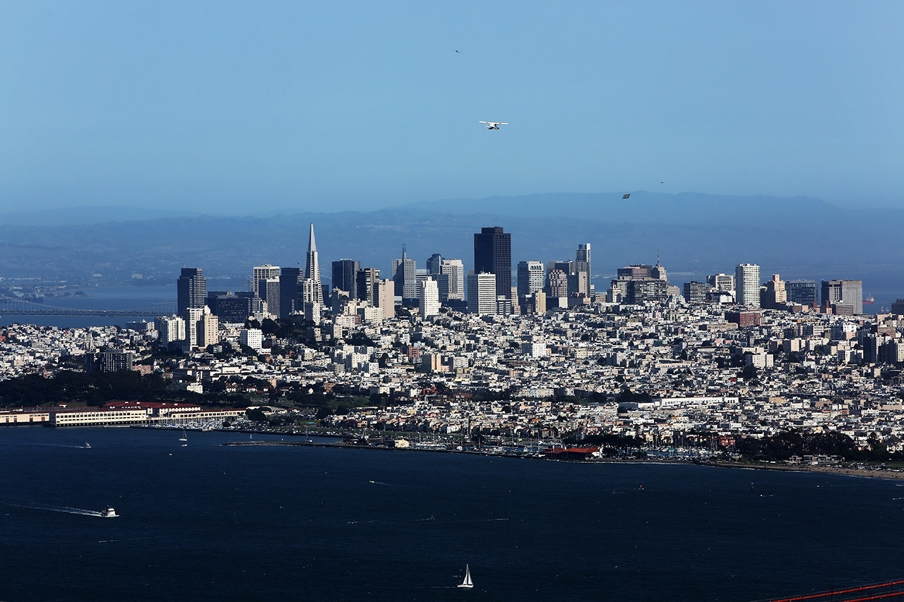 Сан-Франциско издаля