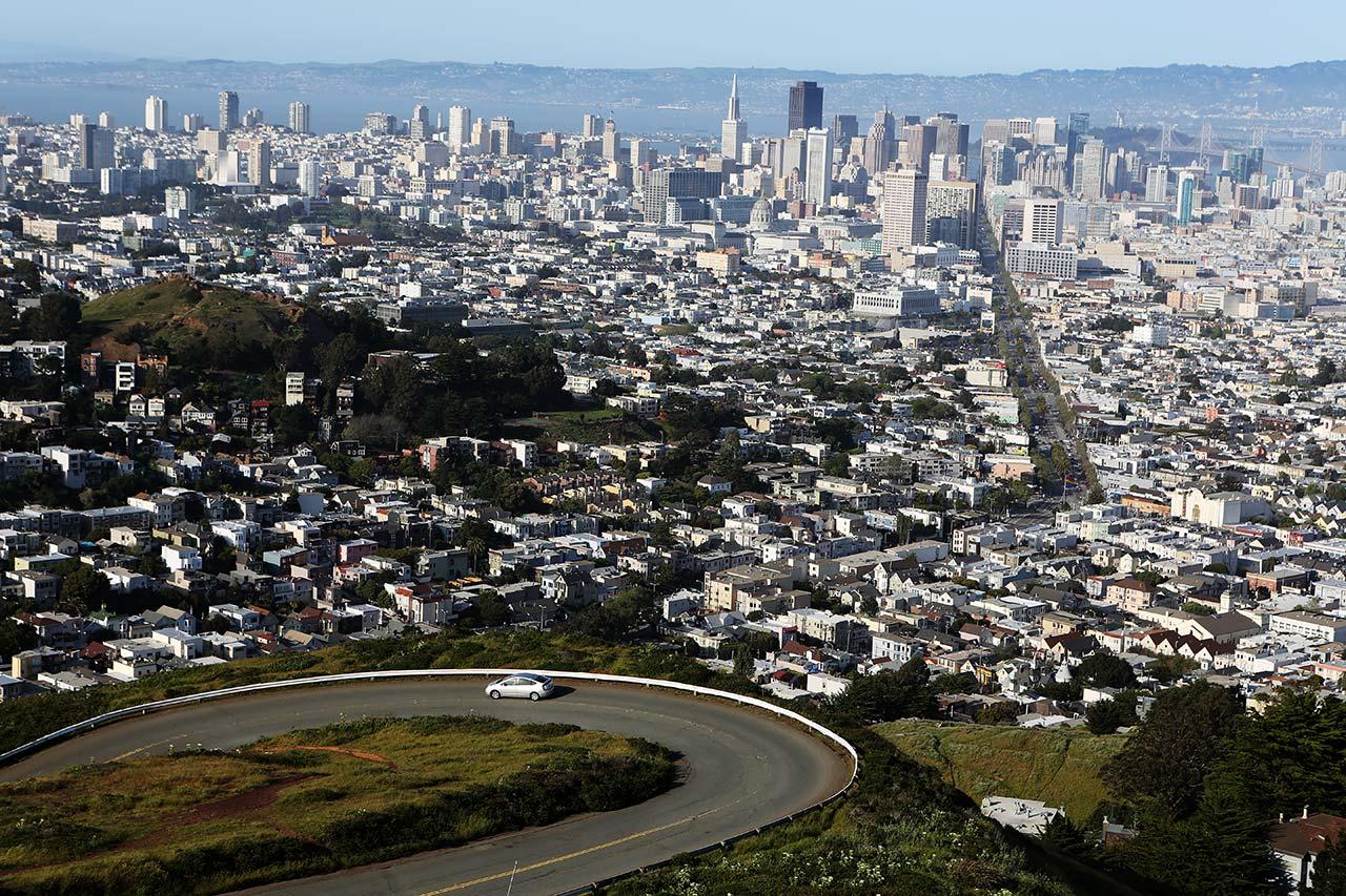Сан-Франциско с Твин Пикс