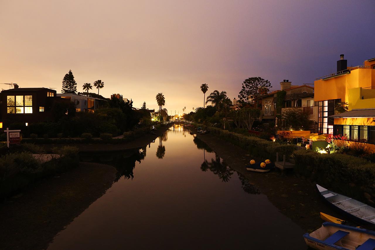 Закат в Лос-Анджелесе