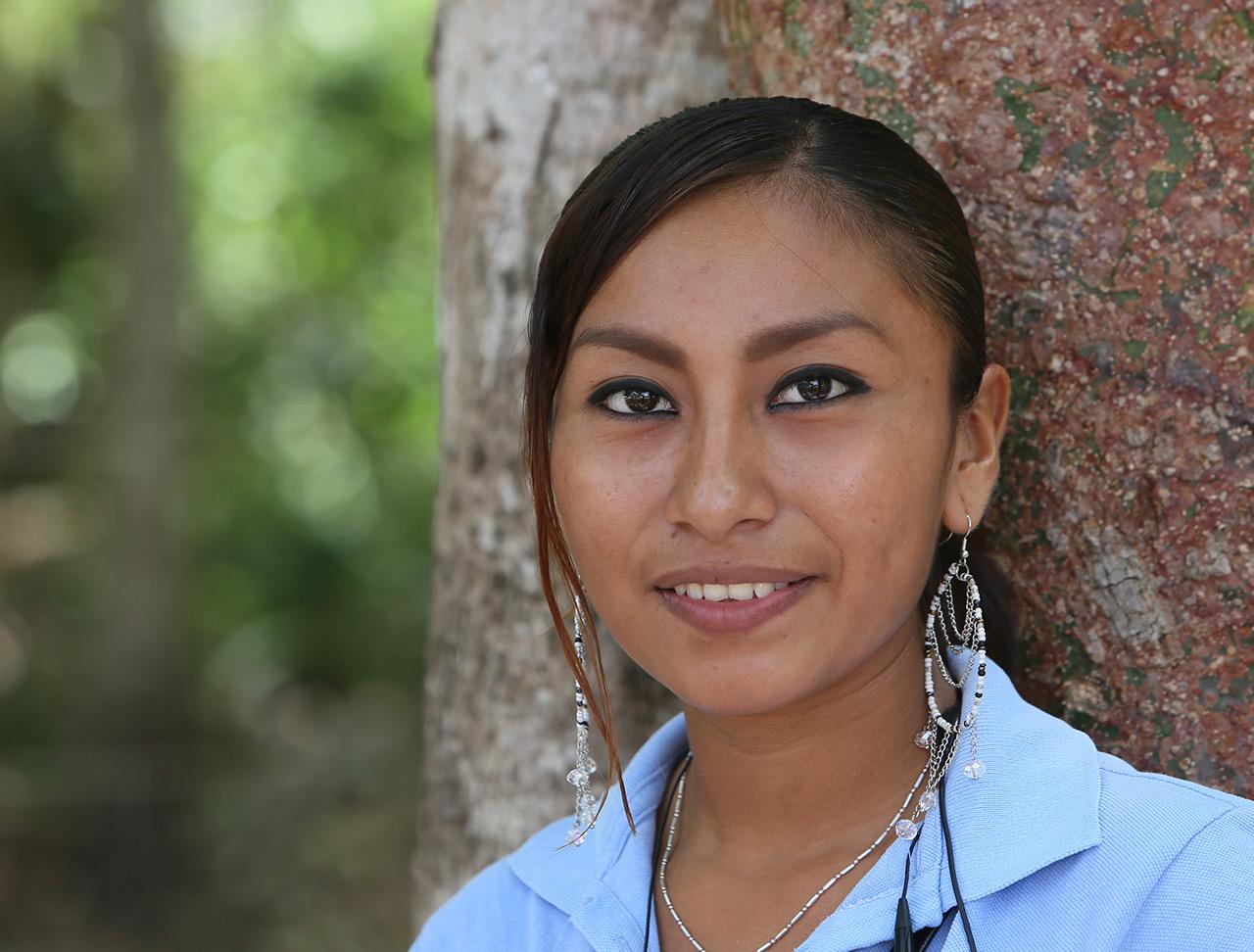 Индейка майа