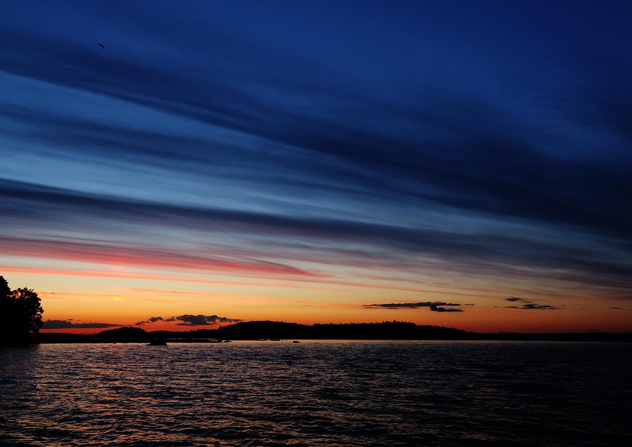 Закат в Рённасе