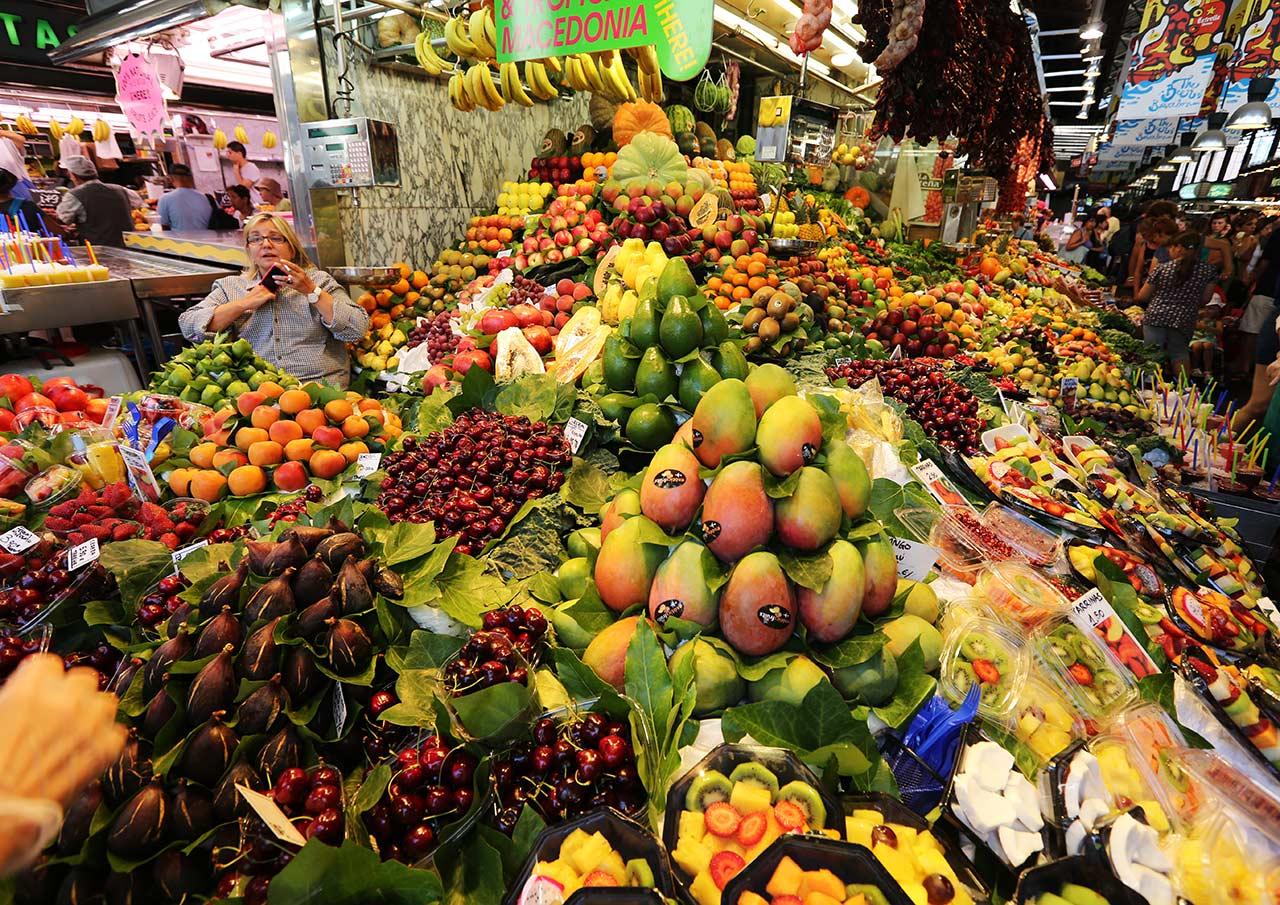 Барселонский рынок