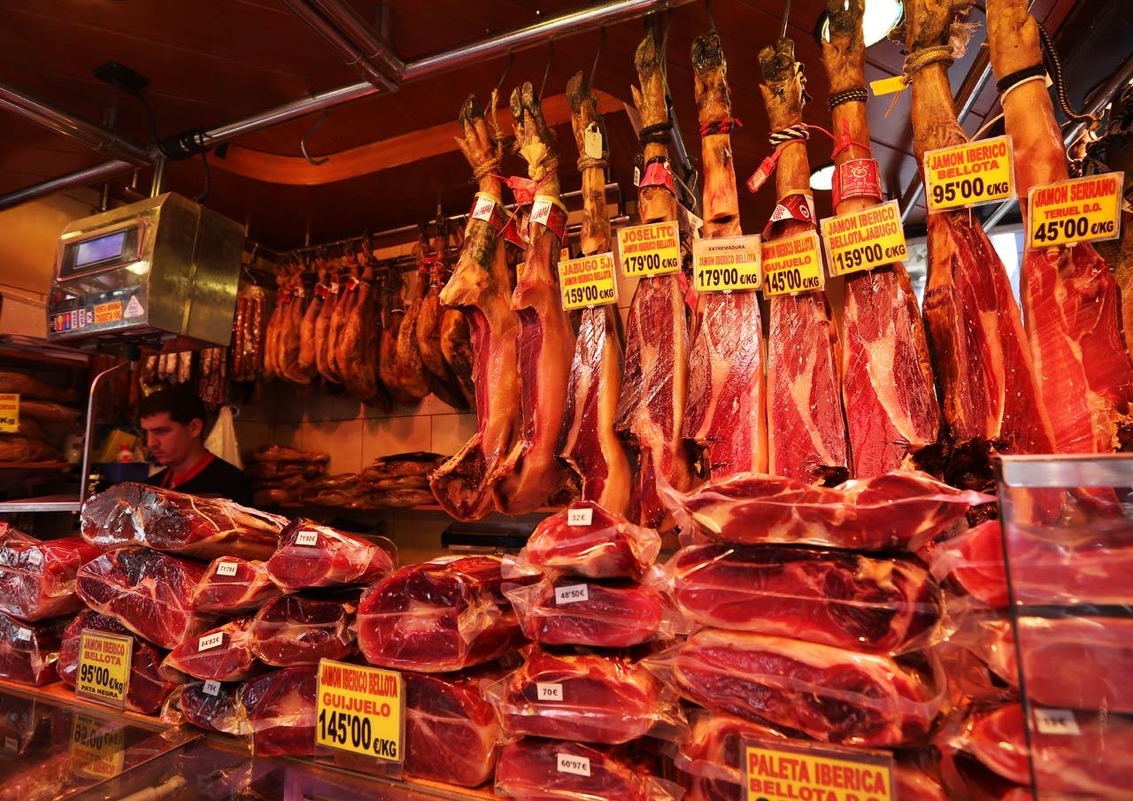 Барселонский хамон
