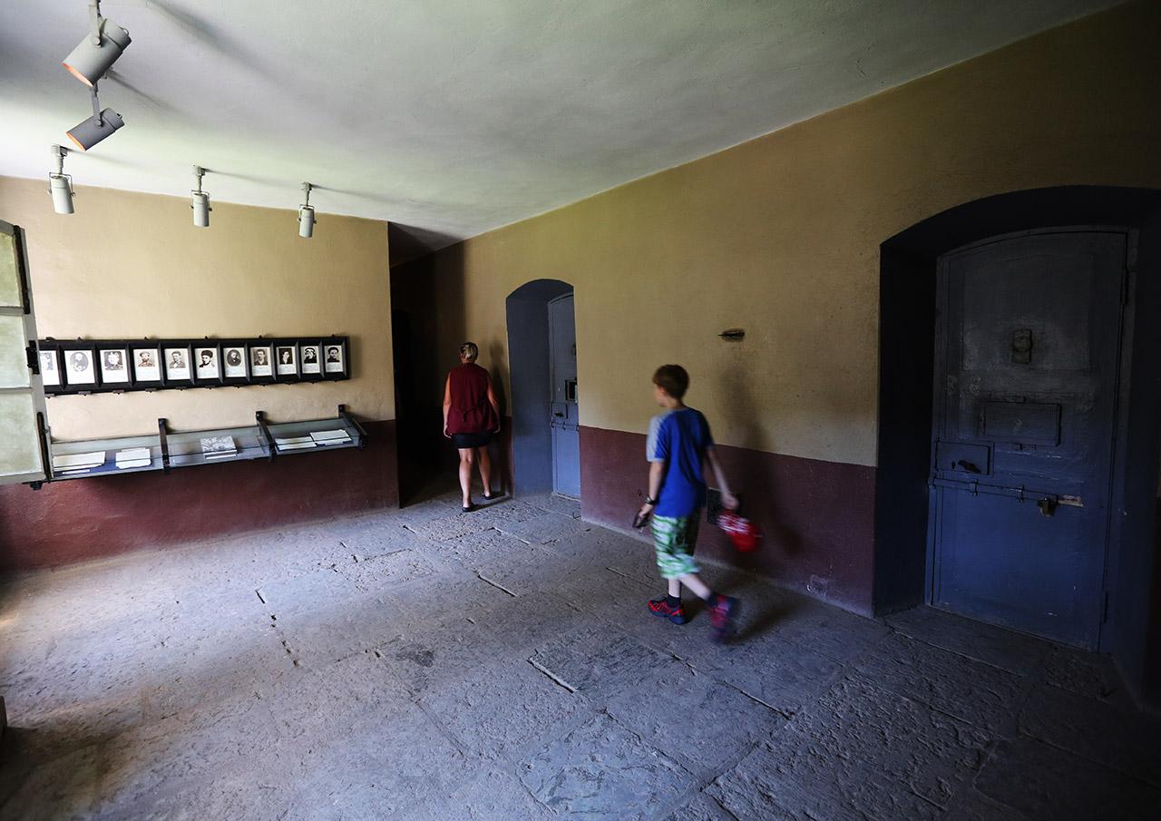 Старая тюрьма в Шлиссельбурге