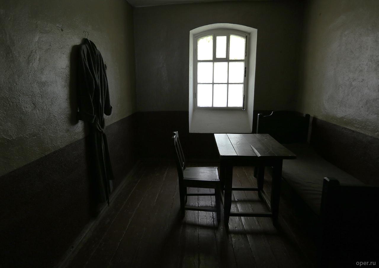 Камера в старой тюрьме