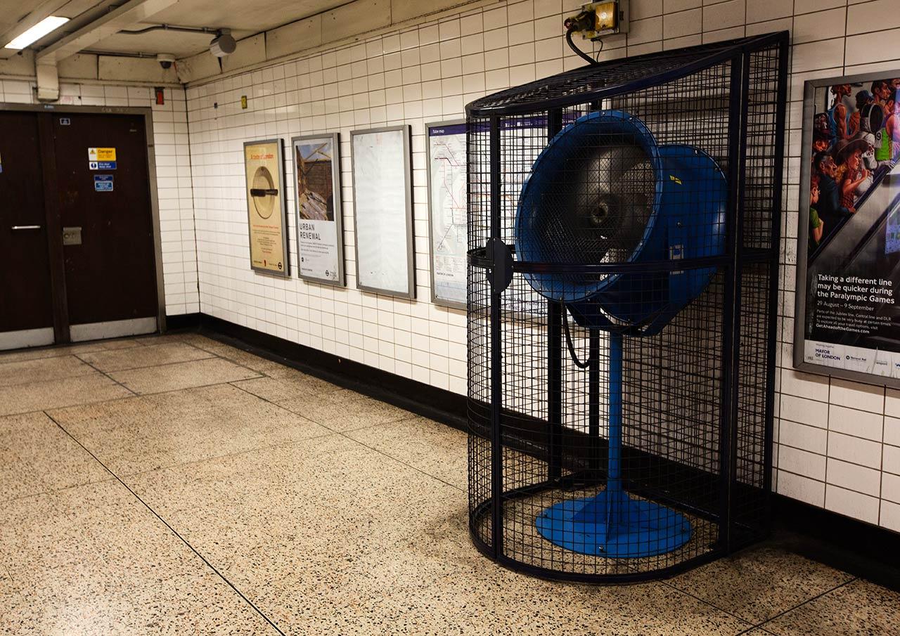 Вентиляция в лондонском метро