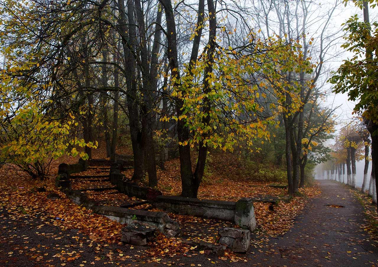 Осень в Пушкинских горах
