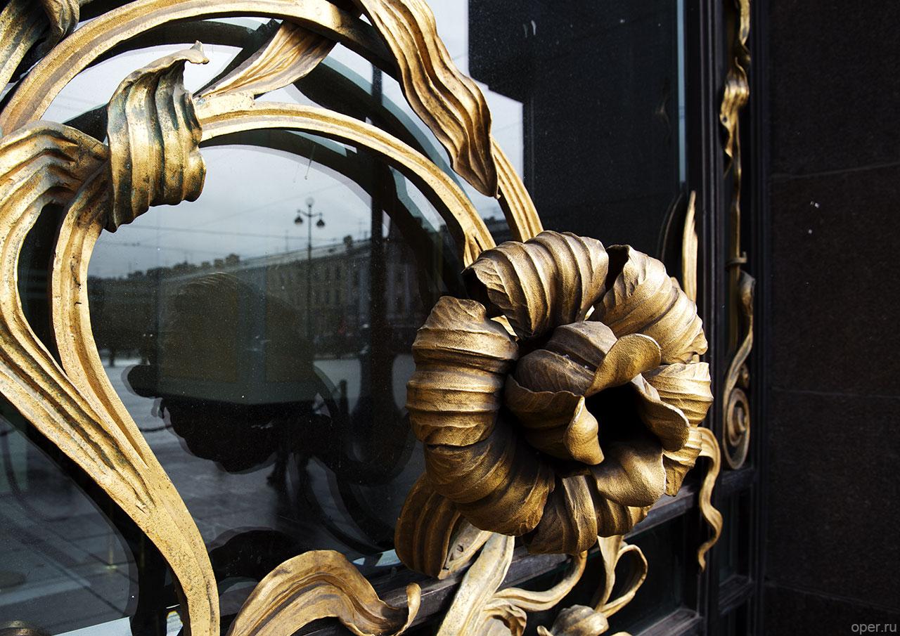 Питерская дверная ручка