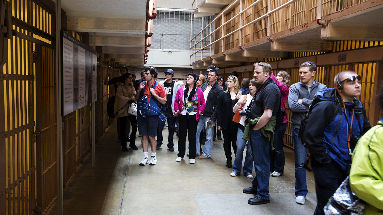 Особенности побега из тюрьмы Алькатрас
