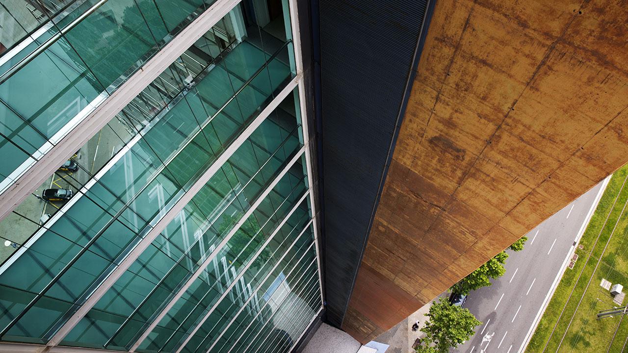 Вид с барселонского балкона