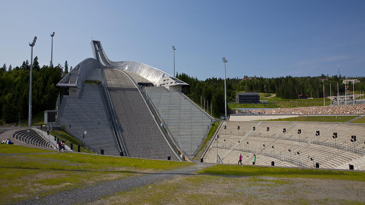 Трамплин в Осло