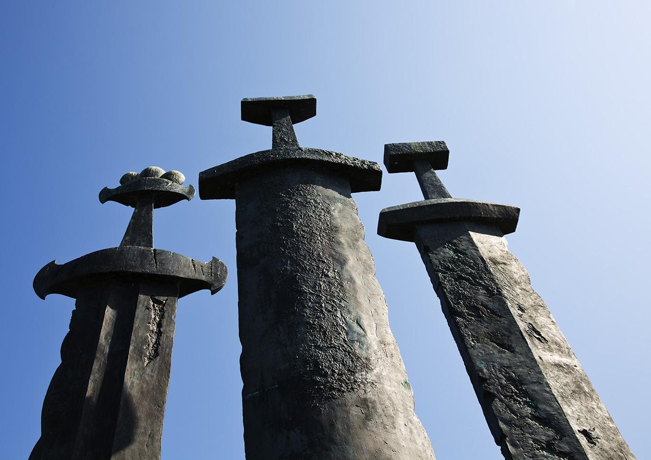Монумент битве в Хаврсфьорде