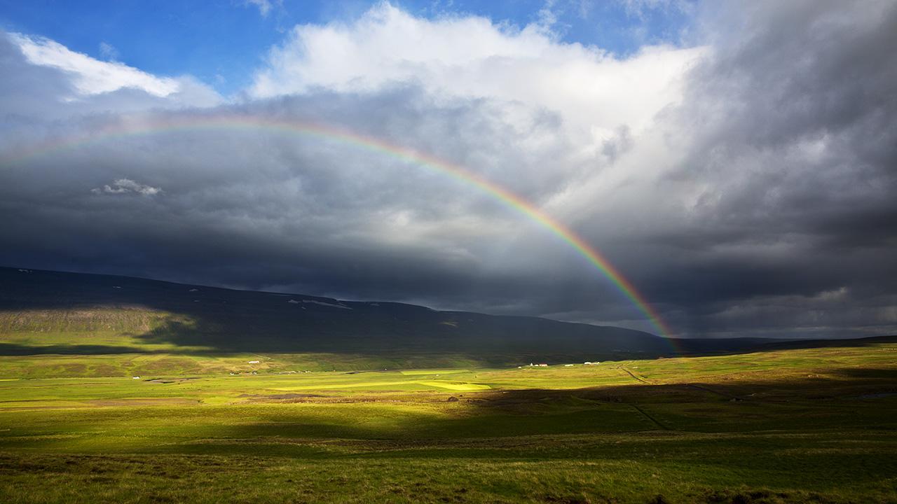 Исландская радуга