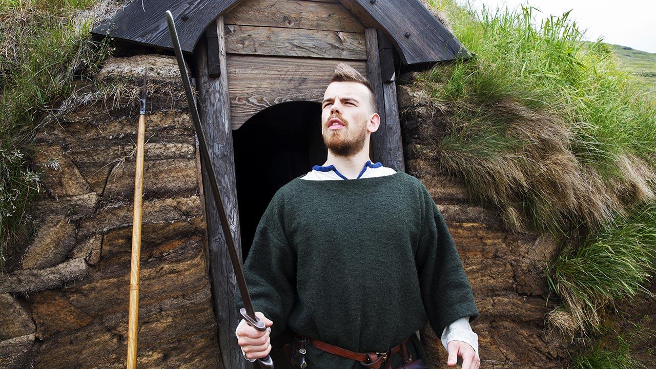 Исландский викинг