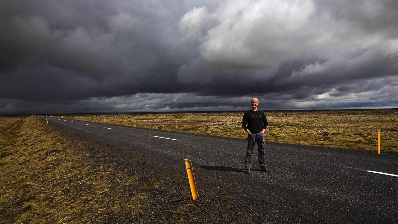 Над Исландией тучи ходят хмуро