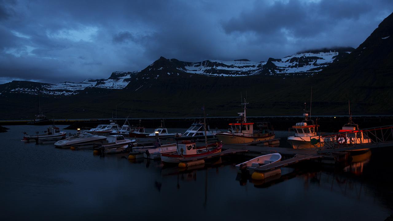 Кораблики во фьорде
