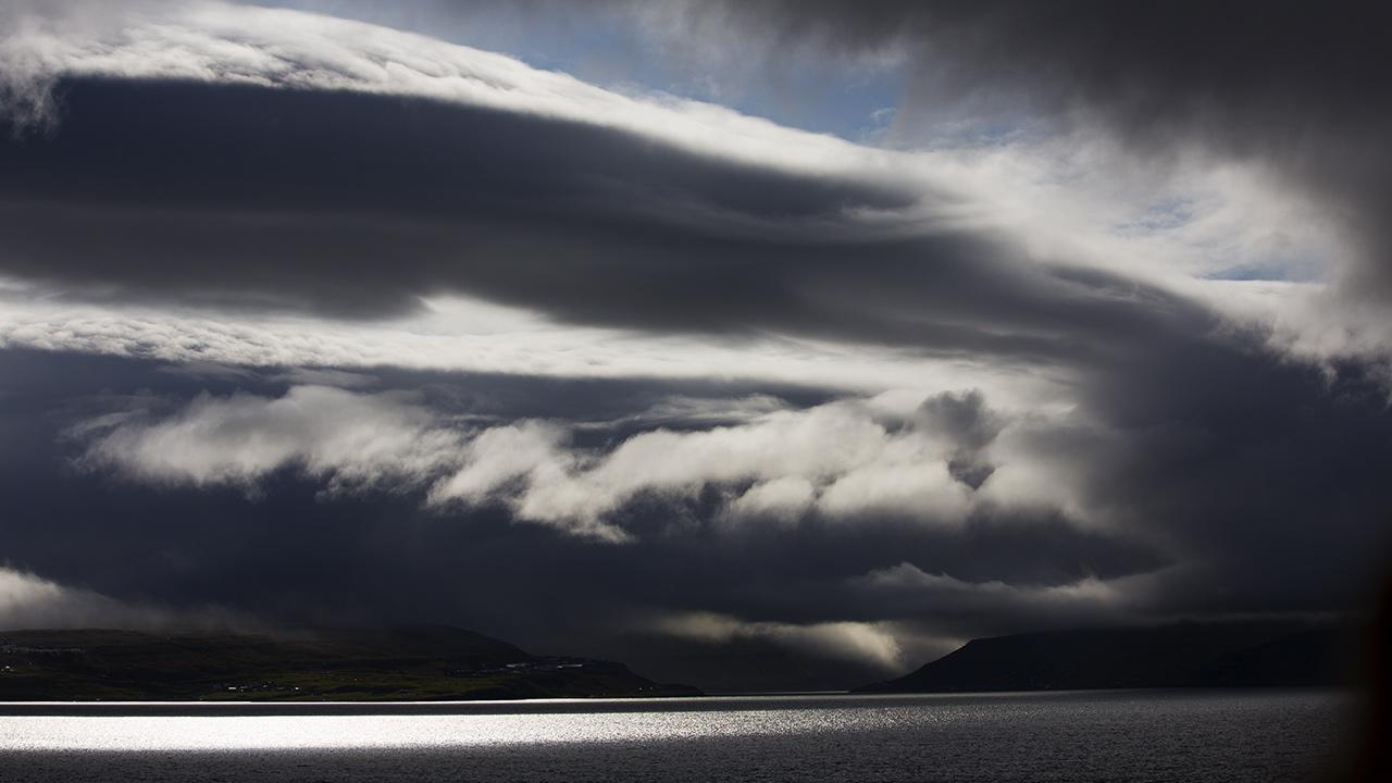 Фарерский облачный денёк