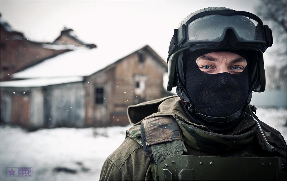 Портрет офицера спецназа