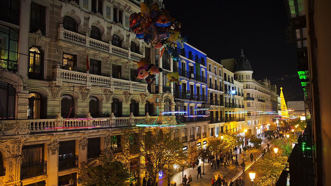 Ночь на Calle Mayor