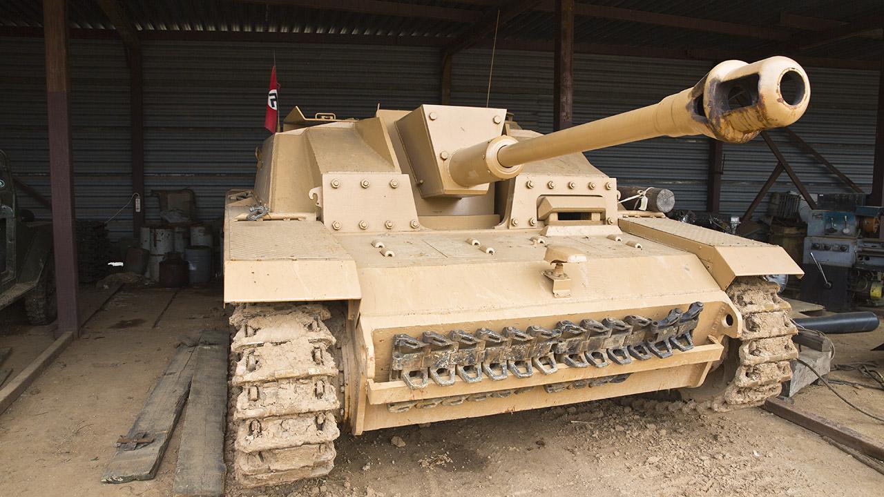 StuG III Ausf F  на линии Сталина