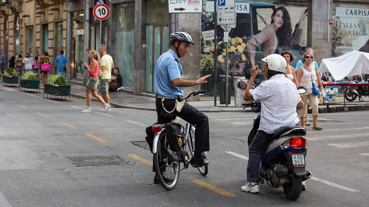 Сицилийская полиция в деле